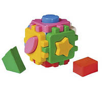 Развивающая детская игрушка Куб