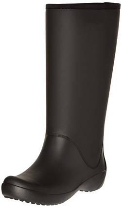 Женские резиновые сапоги Крокс Crocs Women's Rain Floe Tall Boot, фото 2