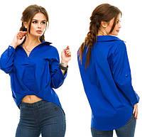 Рубашка женская хлопковая повседневная P3982