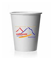 Бумажный стаканчик для капучино и чая 340мл с логотипом Gardman, фото 1