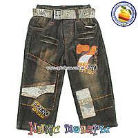 Вельветовые брюки с флисом для малышей от 2 до 5 лет (4731)