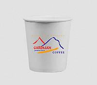 Бумажный стаканчик для эспрессо с логотипом Gardman, фото 1