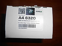 AMD A4-6320 Box (AD6320OKHLBOX) 2x3.8GHz Socket FM2