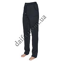 Женские трикотажные брюки с начесом БАТАЛ 007-8 оптом со склада в Одессе