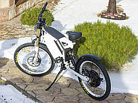 Электровелосипед E-Kross ATOM 5kW white, фото 1