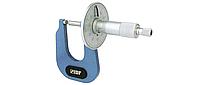 Микрометр МЛ 0-15 мм, листовой, цена деления 0.01 мм, IDF (Италия)