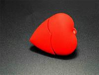 Флешка подарочная сердце 16 Гб к дню Валентина, фото 1