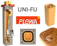 Керамический дымоход PLEWA UNI FU размер 14/14