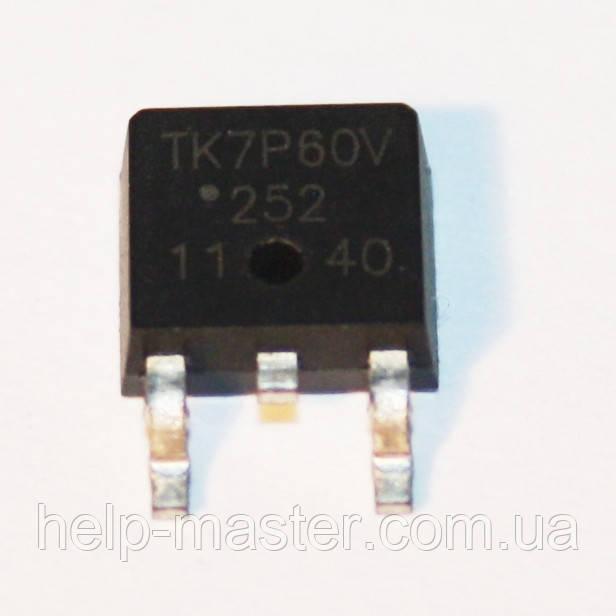 Транзистор TK7P60V