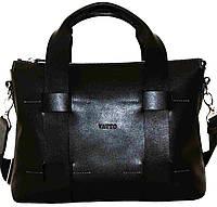 Кожаная мужская сумка Mk23 черная