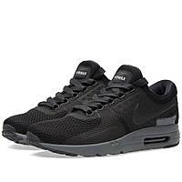 Оригинальные  кроссовки Nike Air Max Zero QS Black & Dark Grey