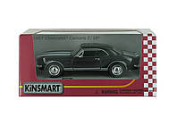 Машина металл KINSMART 1967 Chevrolet Camaro Z / 28, черный, 1:37, фото 1