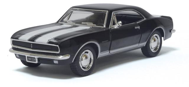Машина металл KINSMART 1967 Chevrolet Camaro Z / 28, черный, 1:37