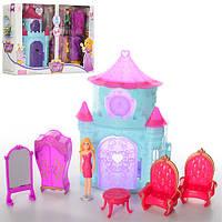 Замок SS011AC принцессы, фигурка 11 см, мебель, 2 вида, в коробке