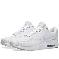 Оригинальные  кроссовки Nike Air Max Zero QS White & Pure Platinum