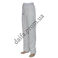 Женские трикотажные брюки с начесом БАТАЛ 074-2 оптом со склада в Одессе
