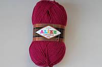 Пряжа полушерсть для ручного вязания ализе лана голд