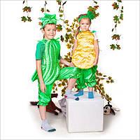 Детский карнавальный костюм Огурец, фото 1