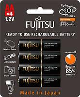 Аккумуляторы Fujitsu 2550 mAh Ni-MH АА 4 шт. (комплект) (HR-3UTHC)