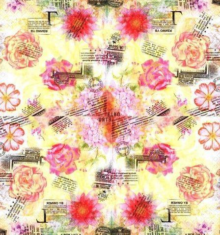 Салфетки декупажные Розы 6261