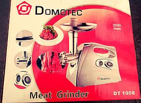 Электромясорубка Domotec DT1008 (2000 Вт)