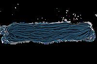 Шнур - груз 3 х 1 на метр. 75 метров (Синий) 29г/м 2,2 кг