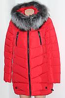 купить зимнюю куртку с чернобуркой дамам