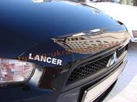 Дефлекторы капота Sim для Mitsubishi Lancer 2007-10