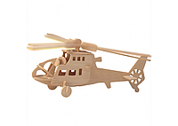 3D пазл вертолет 2 маленькие доски VX