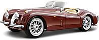 Авто-конструктор JAGUAR XK 120 ROADSTER 1948 вишневый, 1:24 Bburago (18-25061)