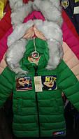 Детская модная зимняя куртка оптом на девочку , фото 1