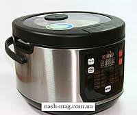Мультиварка MAGIO МG-422, 860 Вт, 5 л. антипригарное покрытие чаши Daikin с ручками, функция йогурт