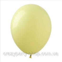 Воздушный шарик 10 дюймов шампань металлик