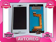 Дисплей модуль Sony Xperia M4 Aqua E2353 E2363 белый