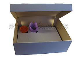 Коробка для кексов (12 шт)