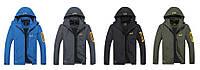 Качественная демисезонная куртка JACK WOLFSKIN для мужчин. Молодежная куртка. Интернет магазин. Код: КДН718