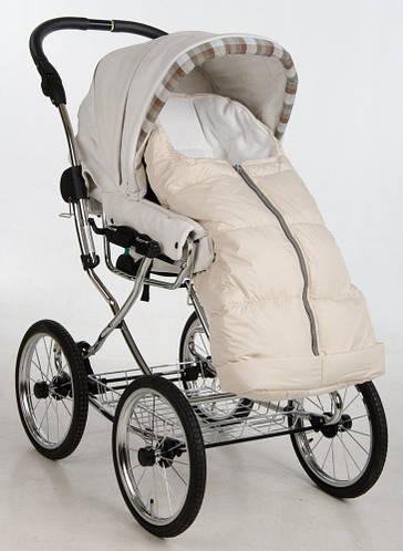 Пуховый конверт в коляску и санки Zart, Kinder Comfort