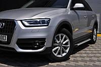 "Боковые пороги ""X5-тип""  Audi Q5 2008+ Ауди кью5"
