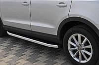"""Боковые пороги """"Alliance""""  Audi Q5 2008+ Ауди кью5"""