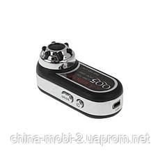 Мини камера регистратор dv dvr QQ5 (md98) с ночной подсветкой, хром, фото 2