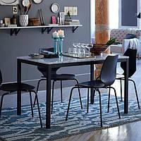 Обеденный стол из мрамора