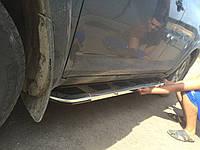 """Боковые пороги """"Vision""""  Audi Q5 2008+ Ауди кью5"""