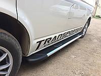 """Боковые пороги """"Bosphorus""""  Audi Q5 2008+ Ауди кью5"""