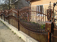 Кованный забор (2000)
