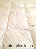 Пуховое одеяло тм Пухови Вироби вензель светлый