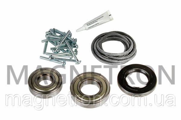 Комплект подшипников с сальником, уплотнителем бака и креплением для стиральной машины Bosch 619809, фото 2
