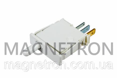 Выключатель света кнопочный (одинарный_3C) для холодильников Bosch 609959