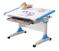 Письменный стол регулируемый К1  Comf-Pro, синий, фото 1
