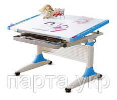 Письменный стол регулируемый К1  Comf-Pro, синий