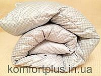 Пуховое одеяло тм Пухови Вироби квадратик